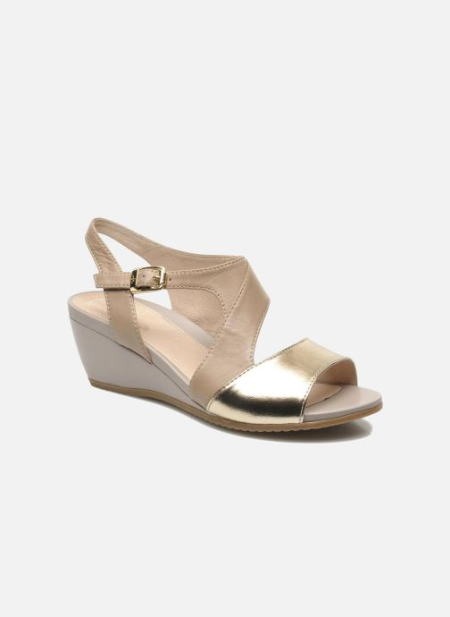 Sandals Stonefly Sweet II 21 Beige detailed view/ Pair view