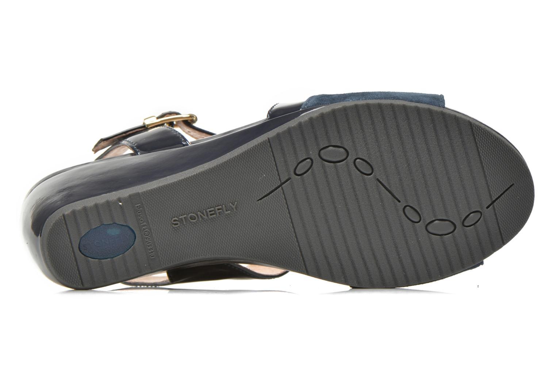 Sandales et nu-pieds Stonefly Sweet II 21 Bleu vue haut