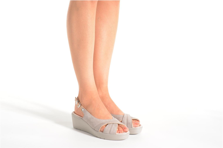 Sandales et nu-pieds Stonefly Tess 3 Beige vue bas / vue portée sac