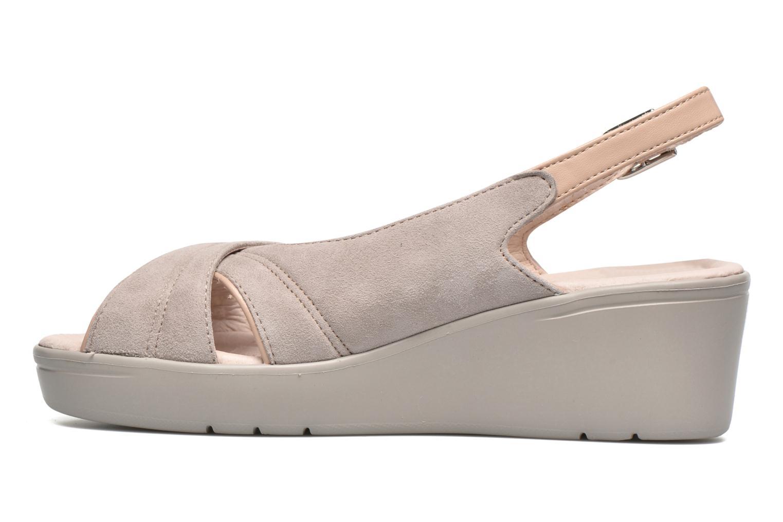 Sandales et nu-pieds Stonefly Tess 3 Beige vue face