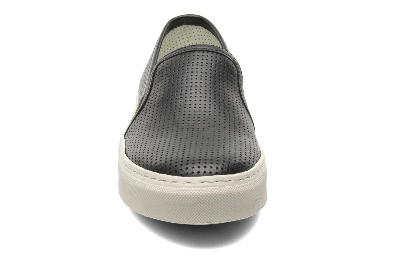 Baskets Bronx Cargo Noir vue portées chaussures