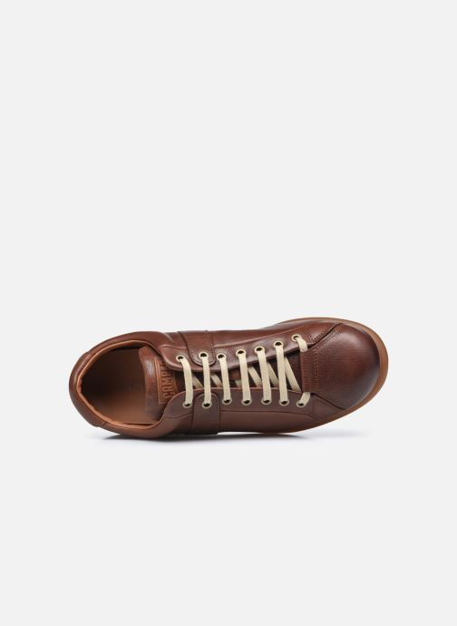 Sneakers Camper Pelotas Ariel Marrone immagine sinistra