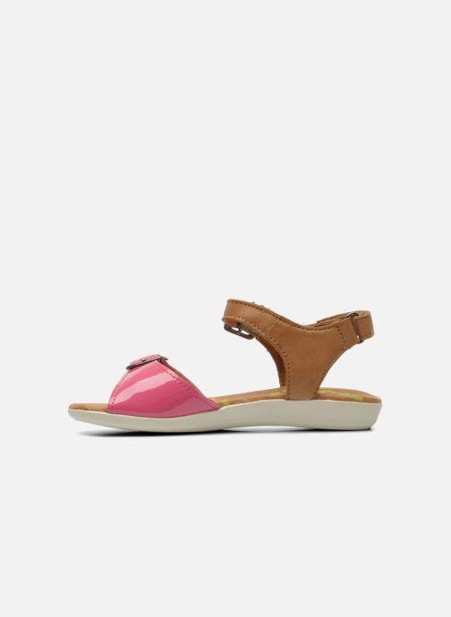 Sandali e scarpe aperte P-L-D-M By Palladium Britta Cash Rosa immagine frontale