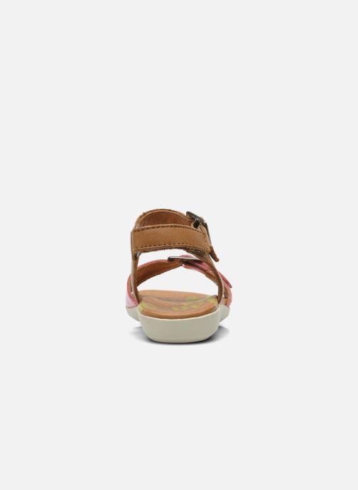 Sandali e scarpe aperte P-L-D-M By Palladium Britta Cash Rosa immagine destra