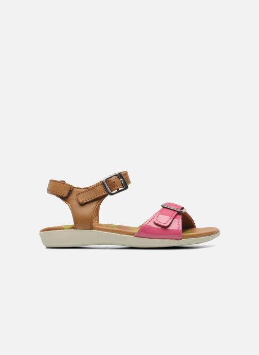 Sandali e scarpe aperte P-L-D-M By Palladium Britta Cash Rosa immagine posteriore