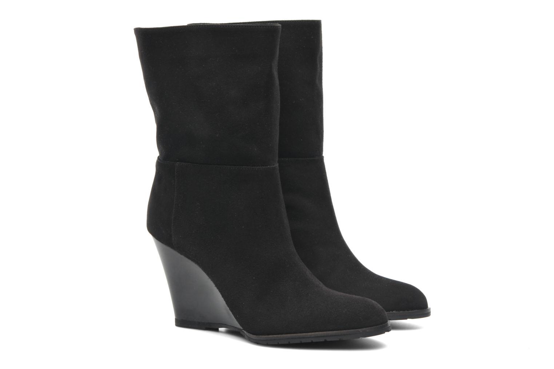 Bottines et boots L.K. Bennett Zia Noir vue 3/4