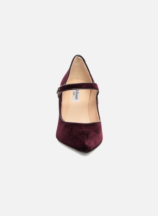 Escarpins L.K. Bennett Monica Violet vue portées chaussures