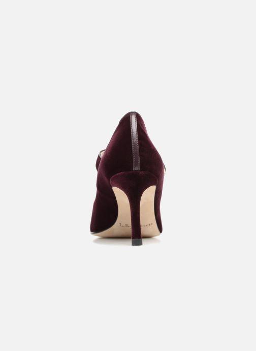 Zapatos de tacón L.K. Bennett Monica Violeta      vista lateral derecha