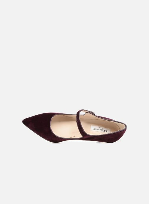 Zapatos de tacón L.K. Bennett Monica Violeta      vista lateral izquierda