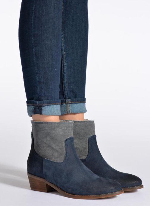 Bottines et boots Méliné Catch Marron vue bas / vue portée sac
