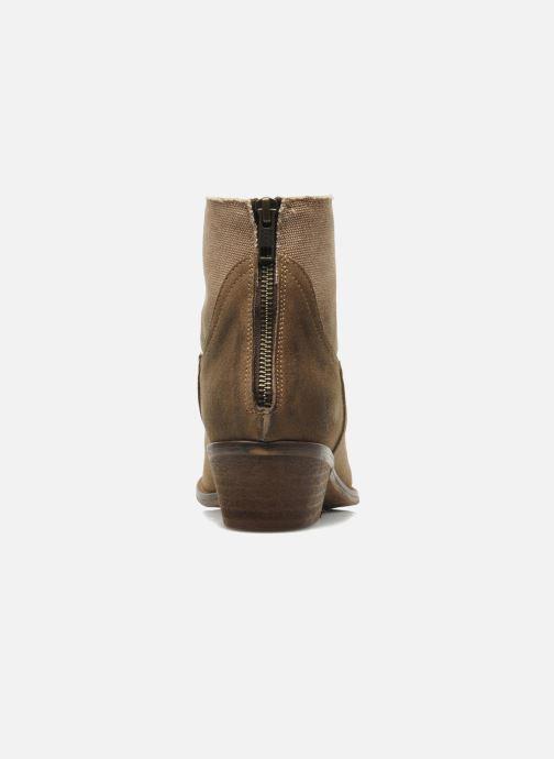Bottines et boots Méliné Catch Marron vue droite