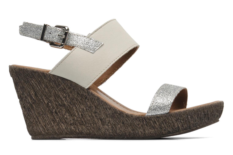 Sandales et nu-pieds Méliné Miler Beige vue derrière