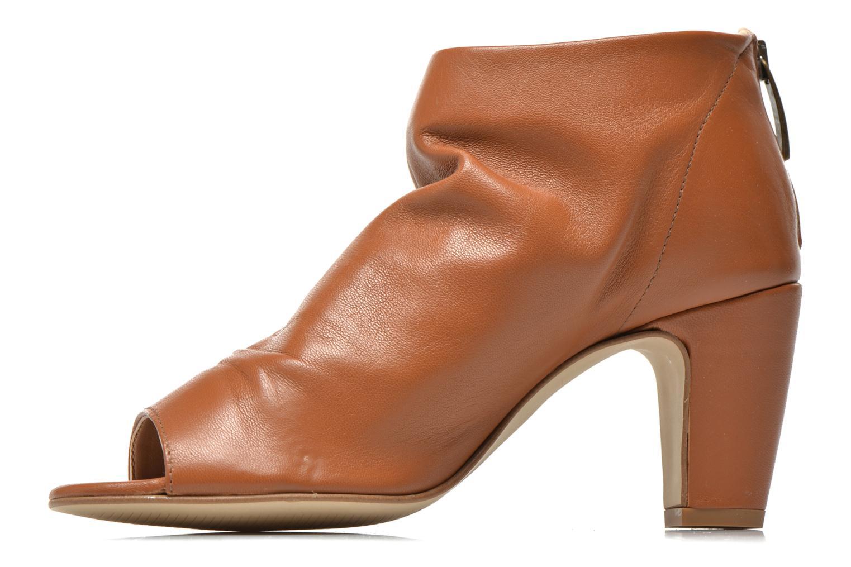 Bottines et boots Georgia Rose Gicel Marron vue face