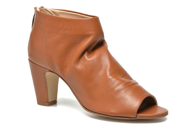 Bottines et boots Georgia Rose Gicel Marron vue détail/paire
