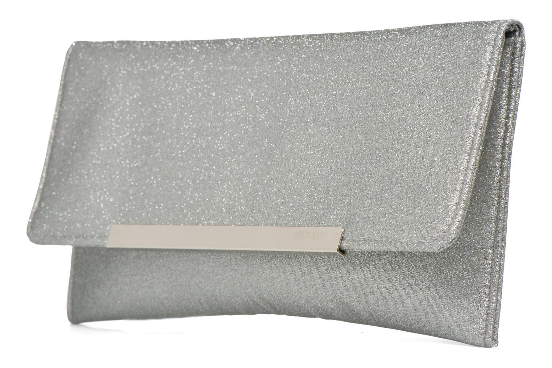 Mini Bags Menbur Gove silber schuhe getragen
