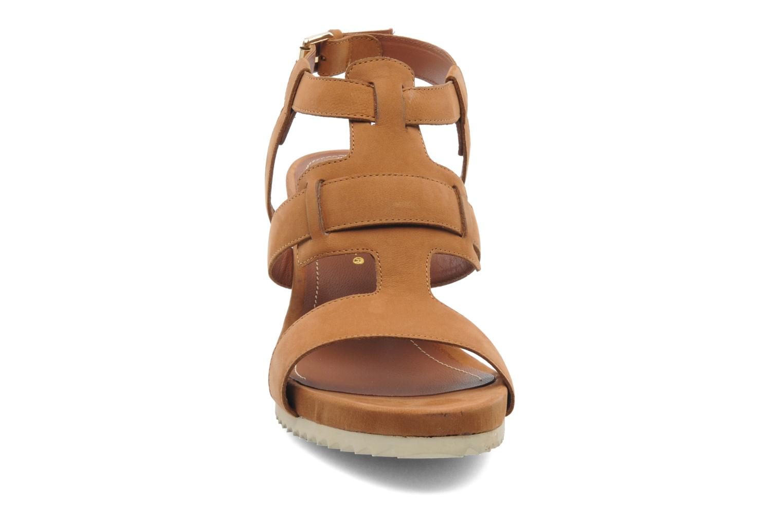 Sandales et nu-pieds Bruno Premi Banu Marron vue portées chaussures