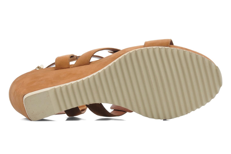 Sandales et nu-pieds Bruno Premi Banu Marron vue haut