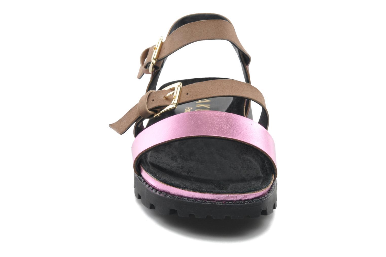 Sandales et nu-pieds Anaki Rio Multicolore vue portées chaussures