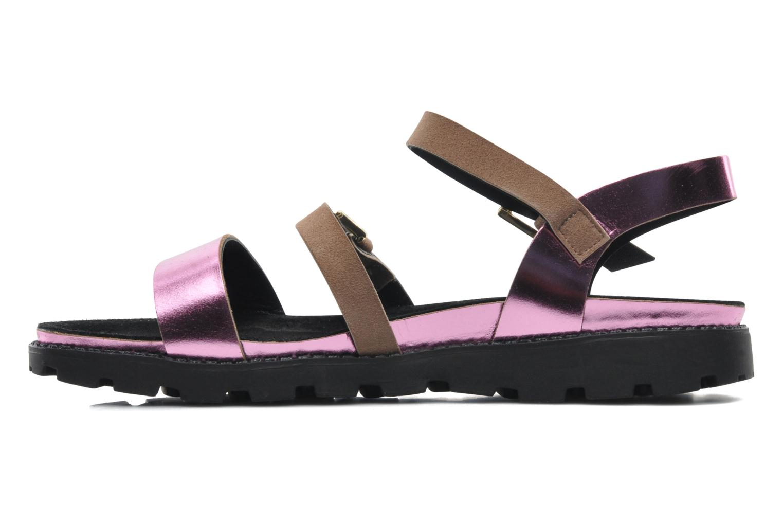 Sandales et nu-pieds Anaki Rio Multicolore vue face