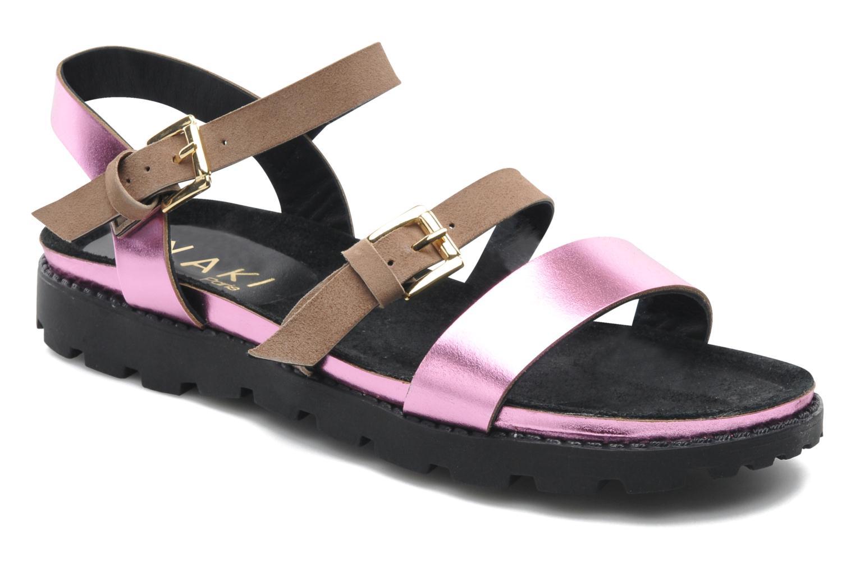 Sandales et nu-pieds Anaki Rio Multicolore vue détail/paire