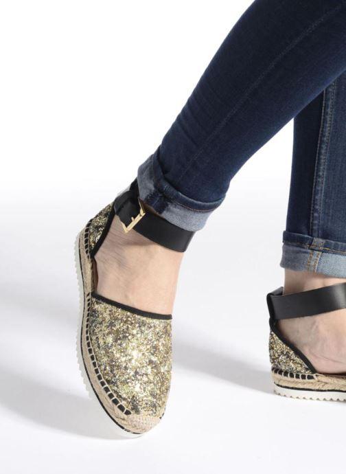 Sandales et nu-pieds Anaki Chica Multicolore vue bas / vue portée sac
