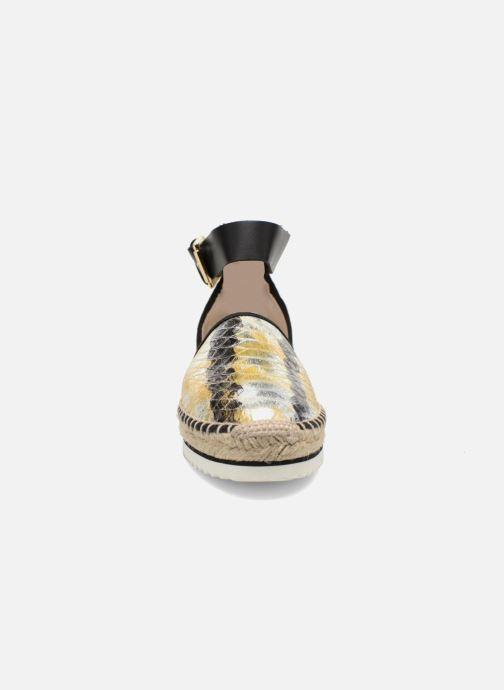 Sandales et nu-pieds Anaki Chica Multicolore vue portées chaussures