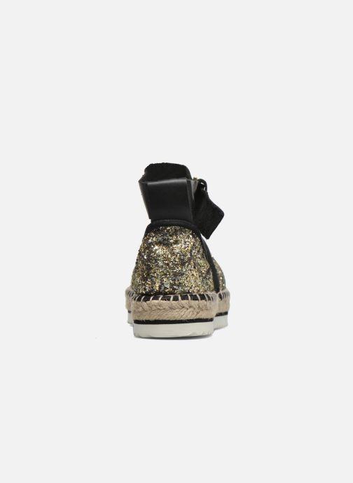 Sandales et nu-pieds Anaki Chica Or et bronze vue droite