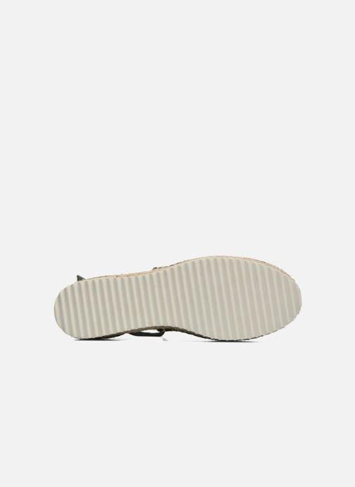 Sandales et nu-pieds Anaki Chica Or et bronze vue haut