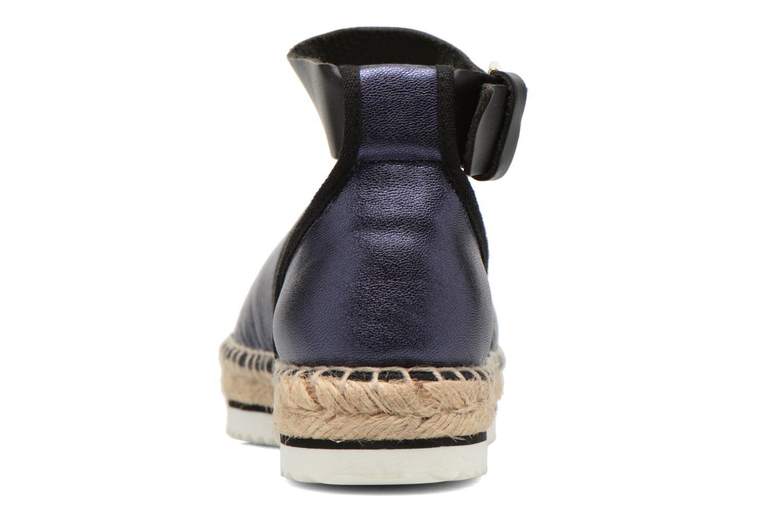 Sandales et nu-pieds Anaki Chica Bleu vue droite