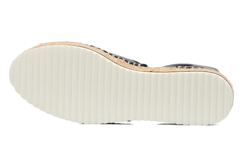 Sandales et nu-pieds Anaki Chica Bleu vue haut