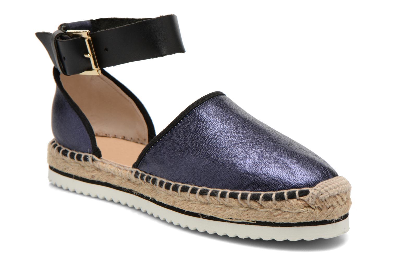 Sandales et nu-pieds Anaki Chica Bleu vue détail/paire