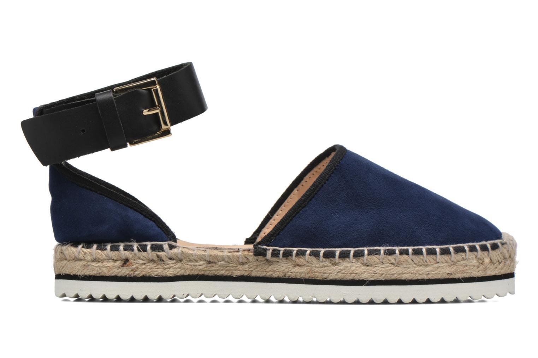 Sandales et nu-pieds Anaki Chica Bleu vue derrière