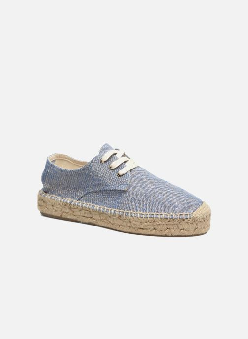Lace-up shoes Anaki Sable Blue detailed view/ Pair view