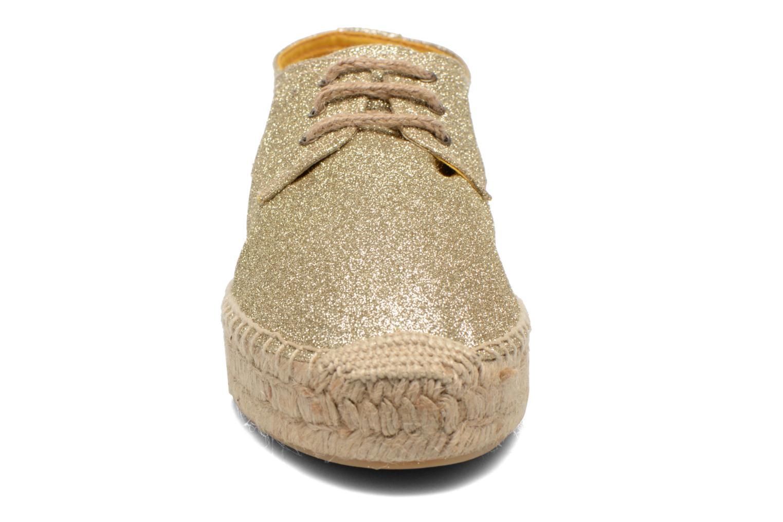 Chaussures à lacets Anaki Sable Or et bronze vue portées chaussures