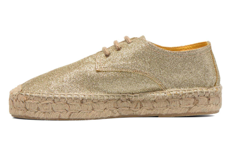 Chaussures à lacets Anaki Sable Or et bronze vue face