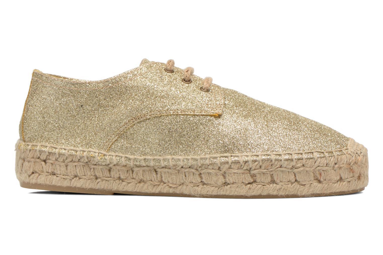 Chaussures à lacets Anaki Sable Or et bronze vue derrière