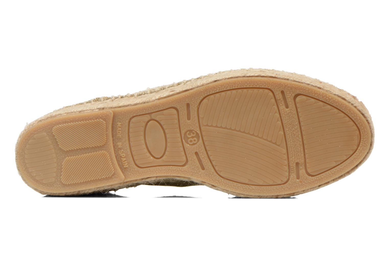 Chaussures à lacets Anaki Sable Or et bronze vue haut