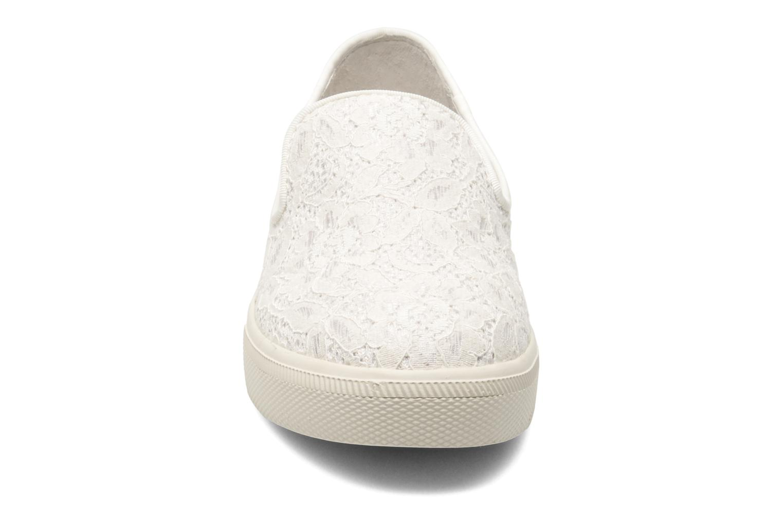Baskets Ash Illusion Blanc vue portées chaussures