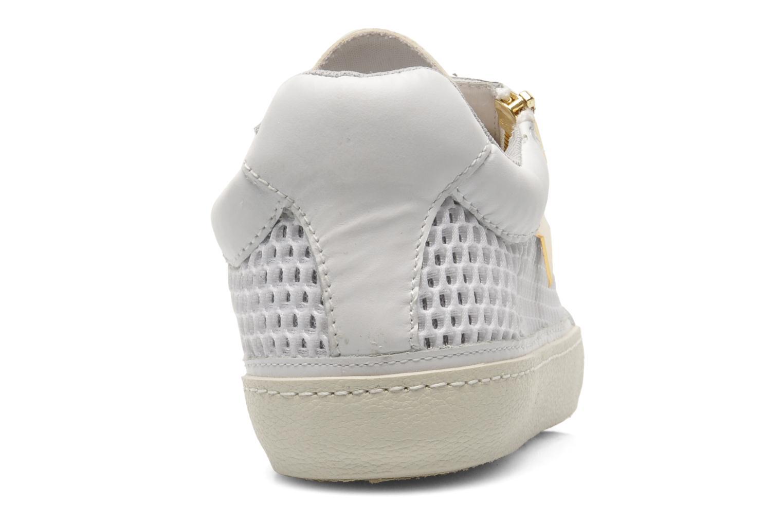 Baskets Ash Shy Blanc vue droite