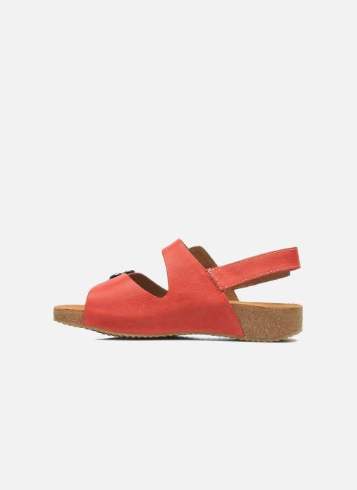 Sandals Josef Seibel Tonga 17 Red front view