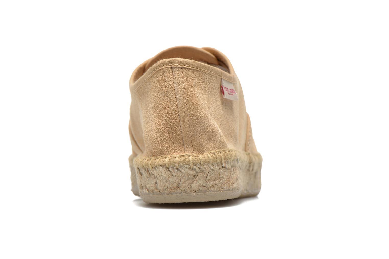 Chaussures à lacets Pare Gabia Ictum croûte Beige vue droite