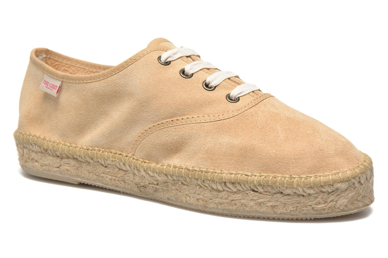 Chaussures à lacets Pare Gabia Ictum croûte Beige vue détail/paire