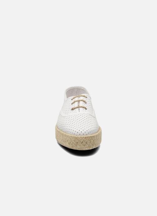 Snøresko Pare Gabia Lotus cuir Hvid se skoene på