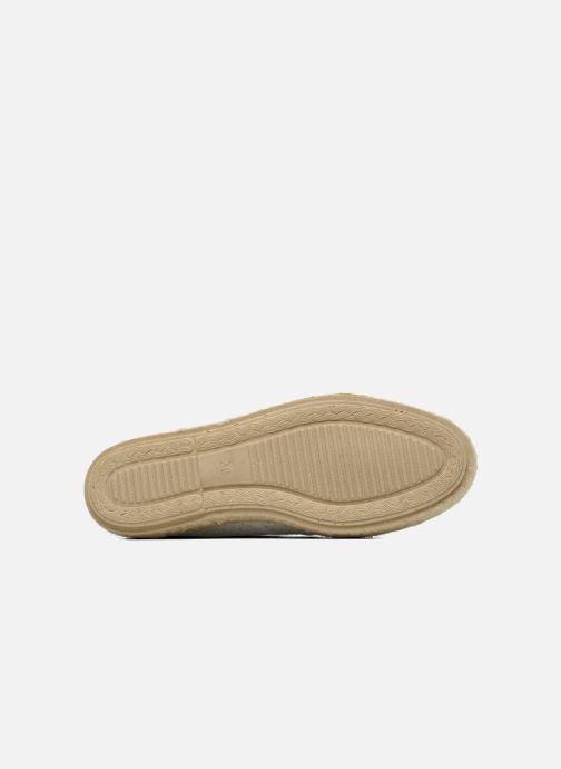 Chaussures à lacets Pare Gabia Lotus cuir Blanc vue haut