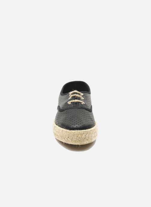 Snörade skor Pare Gabia Lotus cuir Svart bild av skorna på