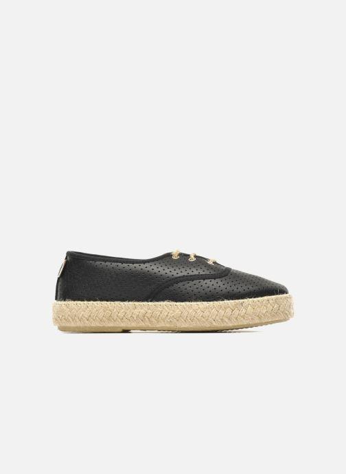 Lotus Cuir Chaussures Gabia Lacets Pare Noir À RL354Aj
