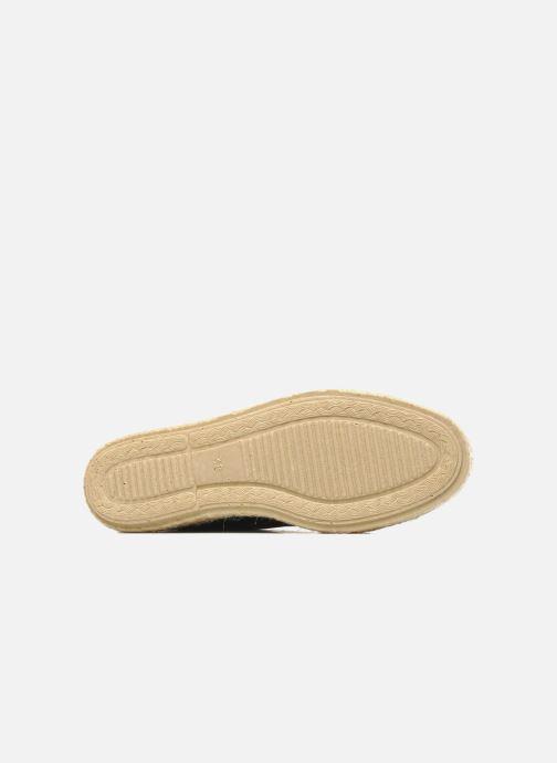 Chaussures à lacets Pare Gabia Lotus cuir Noir vue haut