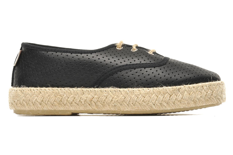 Chaussures à lacets Pare Gabia Lotus cuir Noir vue derrière
