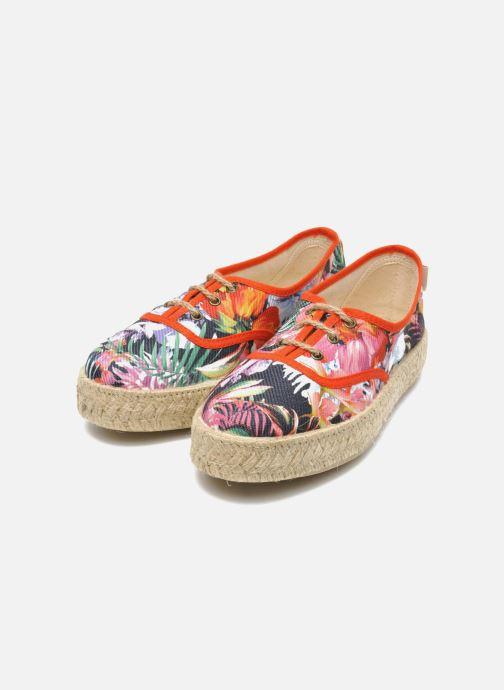 Lace-up shoes Pare Gabia Lotus toile Multicolor 3/4 view