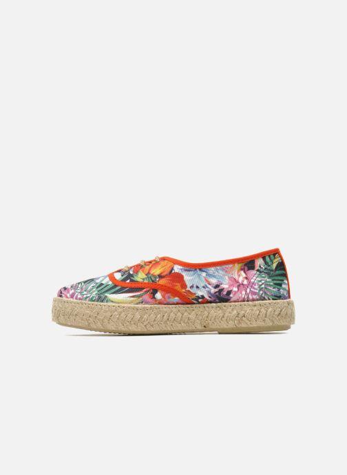 Lace-up shoes Pare Gabia Lotus toile Multicolor front view